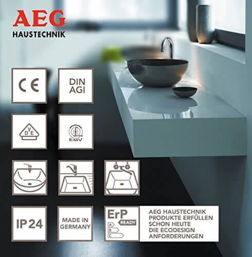 aeg 222162 huz 5 basis kleinspeicher eek a 2kw 5l untertischspeicher durchlauferhitzer test. Black Bedroom Furniture Sets. Home Design Ideas
