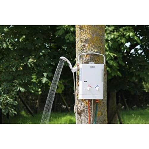 Eccotemp CE L5 Gas Durchlauferhitzer für den Außenbereich Gasdruck: 30 mbar Test