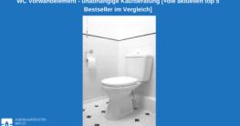 WC Vorwandelement Test